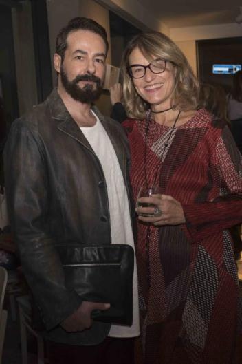 Marco Colletti e Francesca Barbi Marinetti