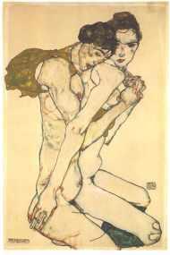 """Egon Schiele_s """"Friendship"""""""