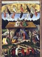 Mystic Nativity by Sandro Botticelli (1500)