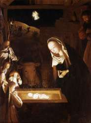 Nativity at Night by Geertgen tot Sint Jans (c 1490)