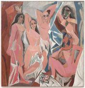 """Pablo Picasso_s """"Les Demoiselles d_Avignon (The Young Ladies of Avignon)"""""""