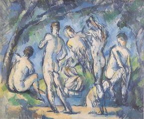 "Paul Cezanne_s ""Seven Bathers"""