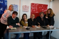 Chiara Montenero, Leonardo Iacuzio, Michela Andreozzi, Pino Ammendola, Edoardo Siravo e Roberta Cima LQ