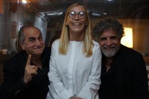Pino Ammendola, Chiara Montenero ed Edoardo Siravo