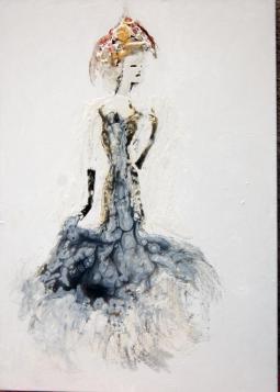 Donna Claudia 50x70 cm 2017
