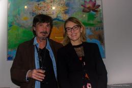 Emilio Leofreddi e Francesca Barbi Marinetti