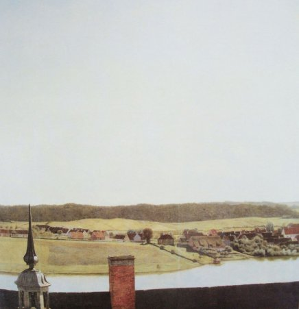 Christian Kobke Roof Ridge of Frederiksborg Castle (1834)