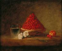 Jean-Baptiste-Simeon Chardin Basket With Wild Strawberries (1761)