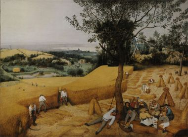 Pieter Bruegel The Harvesters (1565)