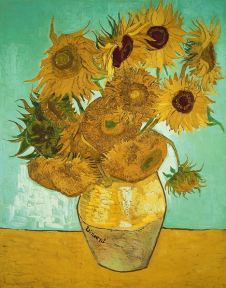 Sunflowers, 1888, Vincent van Gogh