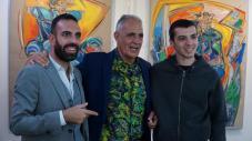Da sx Roberto Di Costanzo, Natino Chirico, Valerio Prugnola